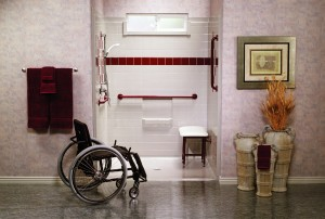 BBS_Red_Shower.wheelchair