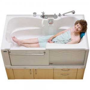 ADL Slide-in Bath: Safety Plus