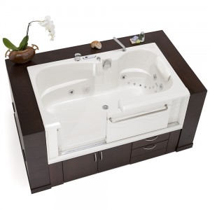 ADL Slide-in Bath: Electronic Touch Control Tub