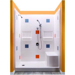 Remodeller shower