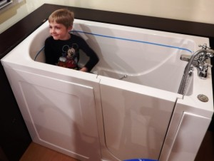 The Hidden Danger of Walk-in Tubs and Children.