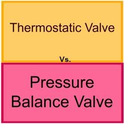 Thermostatic vs. pressure balance valves | Aquassure